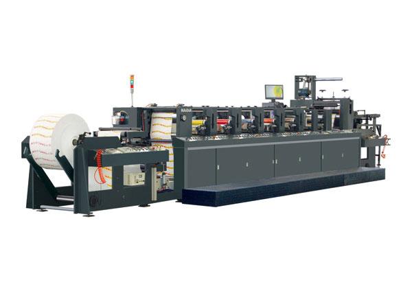 YC-narrow web flexographic printing machine(width300MM-650MM)