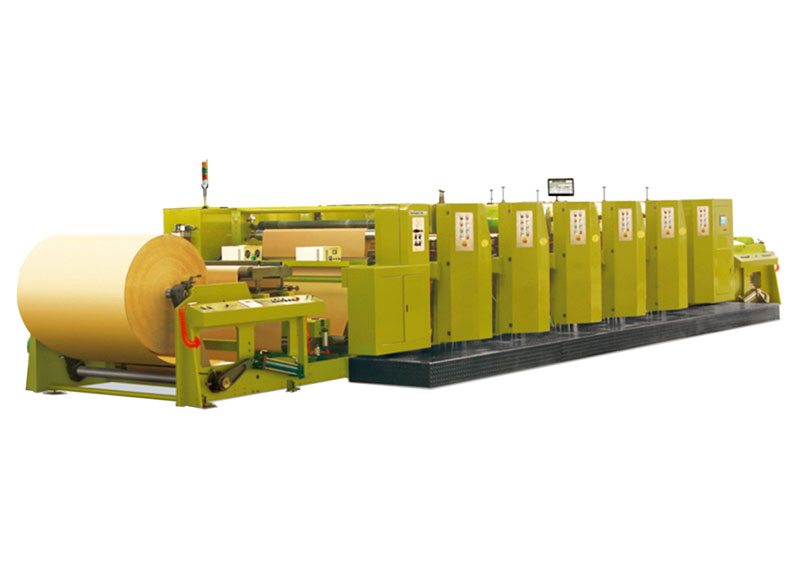 YC-wide web flexographic printing machine(width1300MM-1650MM)