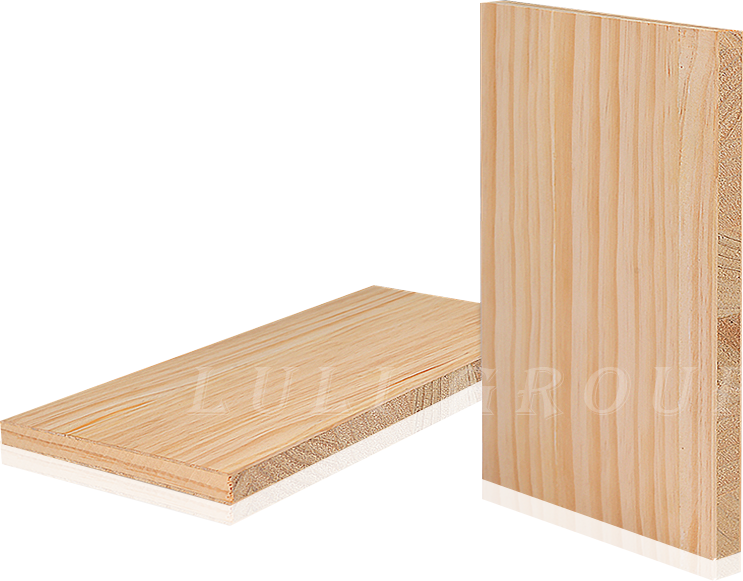 實木結構板貼輻射鬆木皮