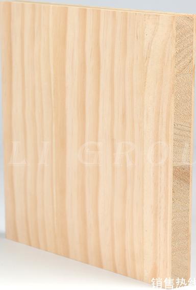 實木結構板贴辐射松木皮