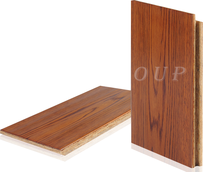 OSB新型强化地板-古典印象系列 橡木洛丽塔色