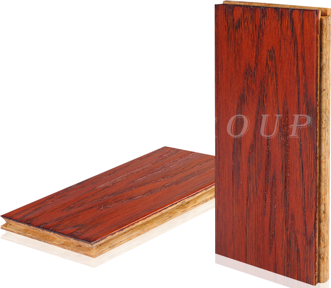 OSB新型强化地板-简约主义系列 经典山核桃