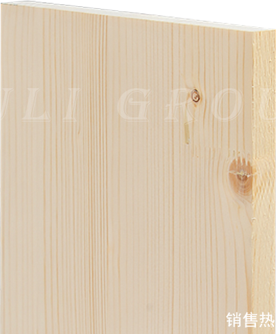 Finger joint plate of spruce