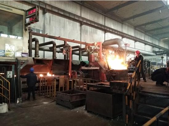 山东浩信集团铸造事业部浇注工段除尘
