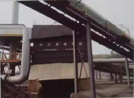 山東華聯礦業有限公司粗廢石加工線除塵