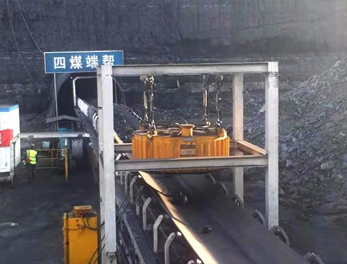除铁器煤矿使用现场