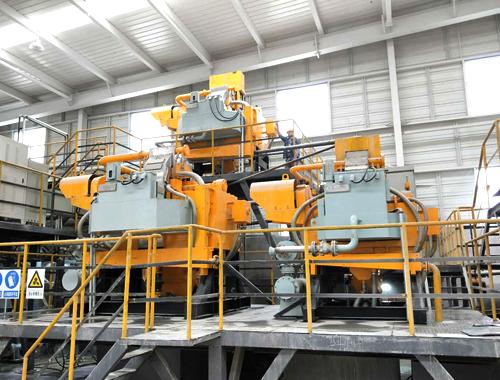 鲁中矿业立环高梯度磁选机使用现场