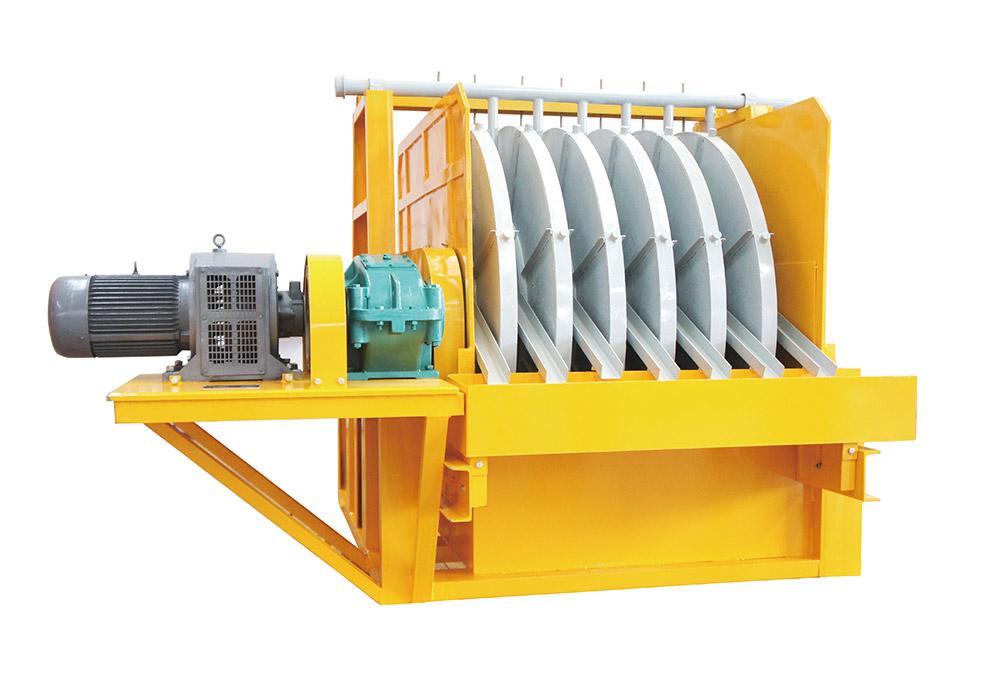 中场强半磁自卸式尾矿回收机