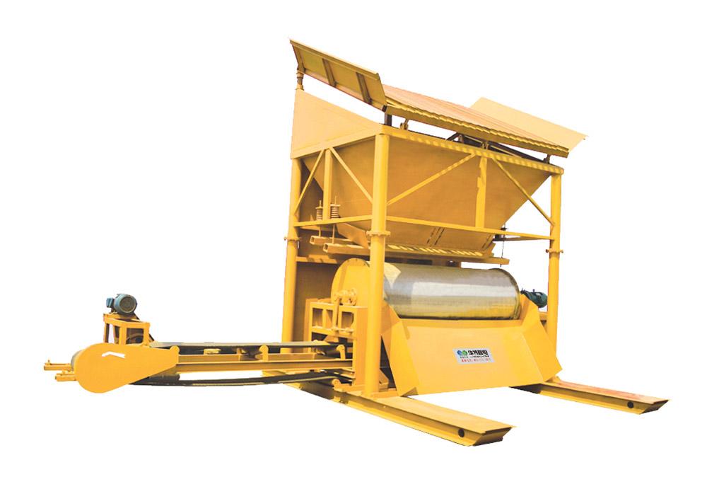 YCBG系列砂土类移动式干选机