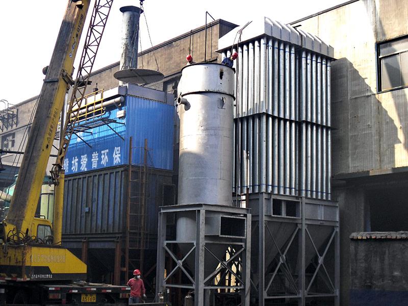 生建机械厂冲天炉除尘