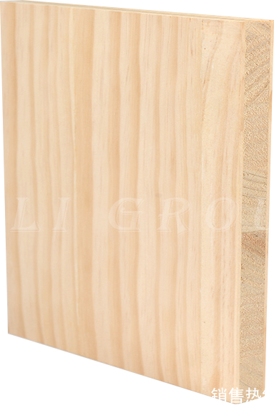 Radiation Pine Bark on Solid Wood Structural Board