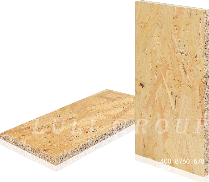 Directional structural plate (OSB)