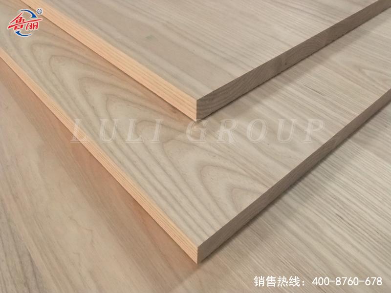 Ash laminated board