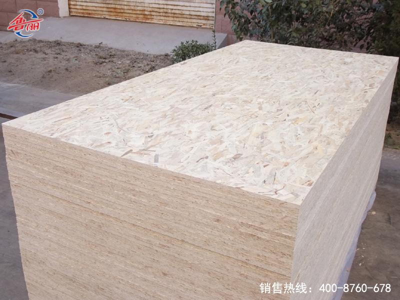 Poplar urea glue packing board