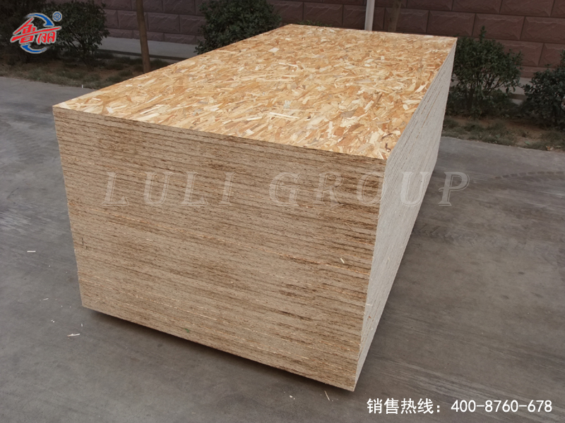 Poplar phenolic glue building board