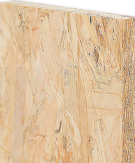 Three layer OSB flooring substrate