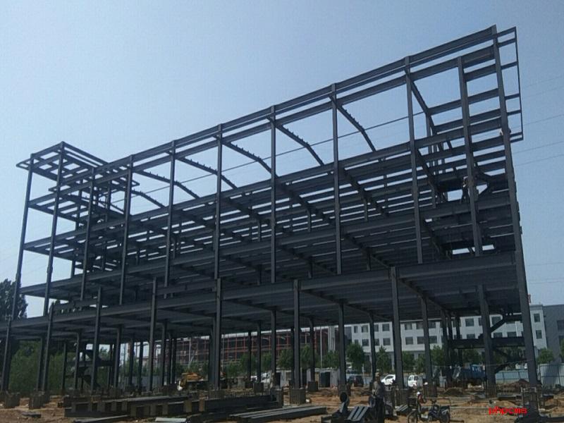 好友红木钢结构工程