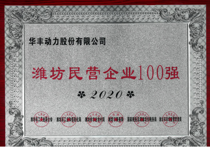 民營企業100強